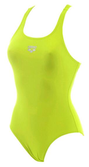 arena Maltosys Swimsuit Women soft green/metallic silver